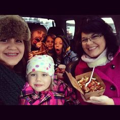 What a great photo!  Family treat time with BeaverTails! Instagram photo by @bafreake (Bafreake)
