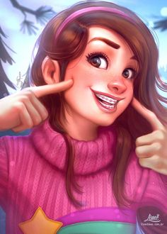 Mabel Pines by AmandaDuarte