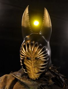 Immortals. Hyperion's mask and helmet. Created by Eiko Ishioka