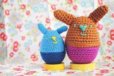 Crochet: Amigurumi Bunny Eggs