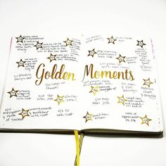 One of my ongoing goals is to be present and focus on the moment I am in.  That exact moment is really all you have.  If you focus on moments, instead of regretting the past, or worrying about the future, you'll find your life is actually made up of some pretty amazing things.  I track them in my #bulletjournal to remind me of all the good in my life.  #goldenmoments #momentsmatter.  For me these moments are usually very simple: *The surge of love I feel as I brush through my daughter's…