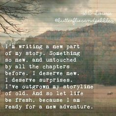 I'm writing a new pa