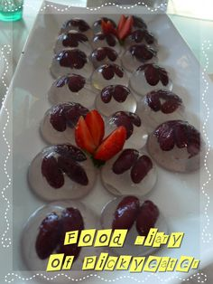 Cute mini jelly!  http://yumyumbites.blogspot.com/2012/07/hi-tea-buffet-at-swez-brasserie-part-2.html#