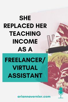 Becoming a work at home mom doesn't just have to be a dream. You can quit teaching for good and get started making money from home TODAY. On today's episode of the Ditch the Classroom podcast, I'm sharing how one mom was able to replace her teaching income as a virtual assistant. If you're ready to ditch the classroom for good, spend more time with your kids, and become a freelancer and/or virtual assistant while working from home, then this is for you. Work From Home Tips, Make Money From Home, Make Money Online, How To Make Money, How To Become, Home Based Business, Business Tips, Successful Online Businesses, Making Extra Cash