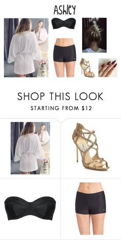 """""""Ash//Before FS//"""" by taylor16styles ❤ liked on Polyvore featuring Jimmy Choo, L'Agent By Agent Provocateur and NEXT"""