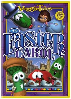 Veggie Tales An Easter Carol DVD: $6.28! ~ add it to your collection, or stash away a fun Easter gift for the kids!