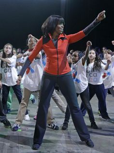 Michelle Obama Talks 'Let's Move' In Chicago