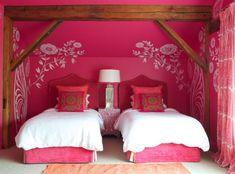 AuBergewohnlich Schlafzimmer Malerei Des Mädchens: 12 Moderne Und Weibliche Ideen