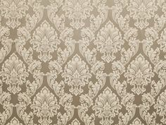 Platinum damask Jacquard Upholstery drapery fabric by the yard wide bedding pillows tableclotho Interior Trim, Interior Design, Faux Leather Fabric, Vinyl Wallpaper, Pattern Names, Drapery Fabric, Dusty Rose, Damask, Craft Supplies