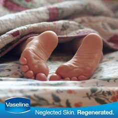 On a lazy day, don't let your skin suffer. Make time to moisturize with #Vaseline.