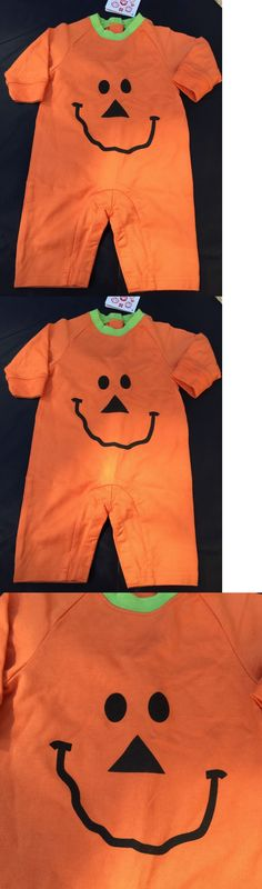 One-Pieces 163425: Hanna Andersson Halloween Pumpkin Outfit Costume ~ Size 60 3 6 Months ~ Nwt -> BUY IT NOW ONLY: $34.95 on eBay!