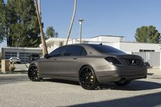 Matte Charcoal Mercedes Benz Maybach S600