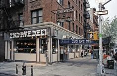 2nd Ave Deli, 2nd Ave & 10th St, East Village.