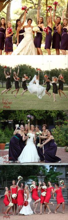 wedding photography pose ideas for edgy | Bridesmaids Photo Ideas | Austin Wedding Ideas by margie