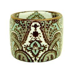 Paisley Napkin Rings, $19.99