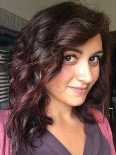 Chocolate mauve hair color. Fall 2016 trend