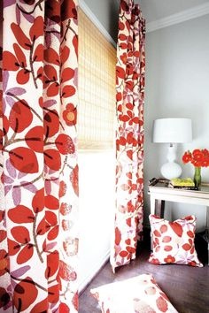 Family room drapes