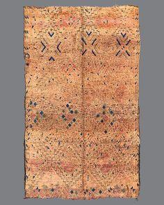 vintage Moroccan rug, Beni M'Guild #BG59