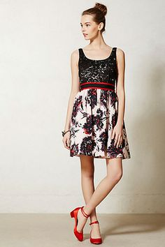 Anthropologie Goes Glam: 12 Party Dresses To Start The Season Off Right #refinery29  http://www.refinery29.com/57150#slide8