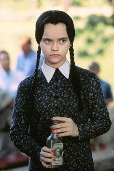 Christina Ricci as Wednesday Addams.