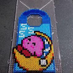 Kirby door hanger perler beads by latanadelconiglio