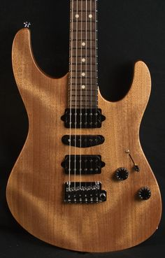 Suhr Modern Satin Natural Electric Guitar #23689