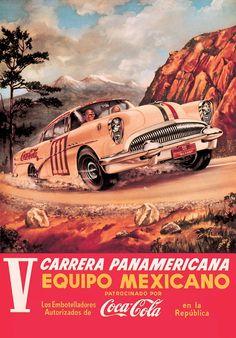 Coca-Cola en favor de un clásico del automovilismo: Carrera Panamericana.