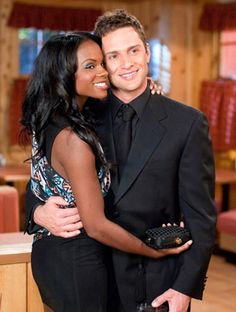 Although he's Cuban, their chemistry showed on T.V. Best T.V couple, Layla and Cristian on OLTL.