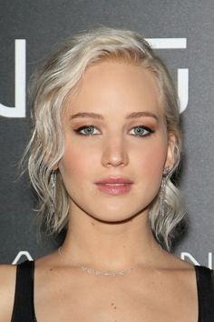 Jennifer Lawrence just debuted an icier rendition of her already platinum blonde hair and the result is breathtaking.