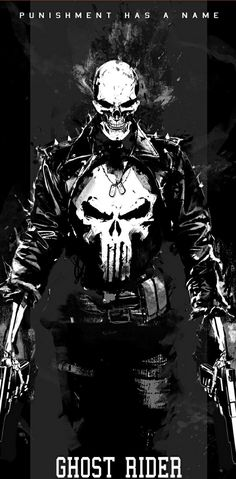 Punisher Ghost Rider ... PUNISHMENT HAS A NAME !!! °°