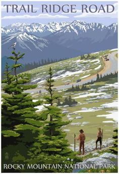 Trail Ridge Road - Rocky Mountain National Park Posters at AllPosters.com