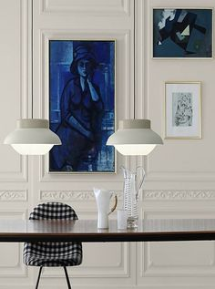 Trio of artworks luxury furniture, Exclusive Design, Designer Furniture, Interior Design, Best decor, Decorating secrets, entrance hall,living area. get inspired on: http://www.bocadolobo.com/en/inspiration-and-ideas/