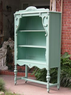 beautiful shelves made from vintage chest of drawers