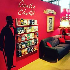 I need this in my house for my Agatha Christie collection! I'll need 2 - one for Poirot, one for Marple