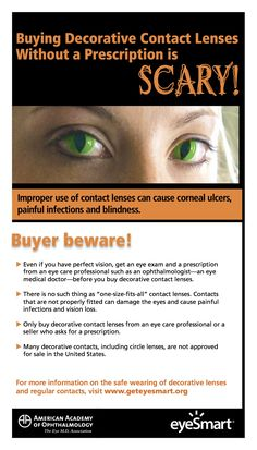 Keep health and safety in mind when choosing your Halloween costume, including decorative contact lenses