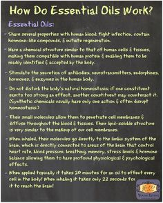 https://www.youngliving.com/signup/?sponsorid=1838117&enrollerid=1838117How Do Essential Oils Work? | For more info, come visit: www.thesavvyoiler.com