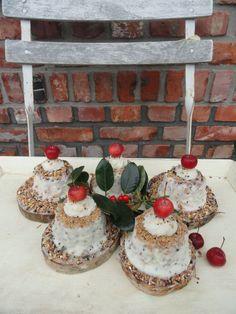 Cute little bird cakes. Bird Cakes, Cute, Kawaii