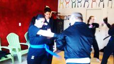 Saturday adult class #xiaolukarate #abq #karate