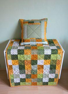 Prošívaná deka, tzv. falešný patchwork
