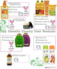 My Favorite Cruelty Free Products - http://www.beautysets.com/sets/45625 -