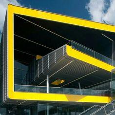 Centro de Convenções ExCel, em Londres. Projeto do escritório britânico Grimshaw.