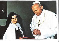 Papa João Paulo II e Irmã Lucia