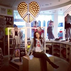 Beth and her clothing line