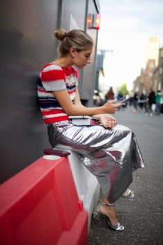 London Fashion Week Street Style Photos Spring 2016   WWD