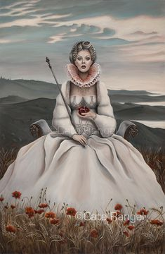 The Empress - Tarot Painting by caterangel.deviantart.com on @deviantART
