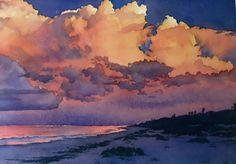 Joel Johnson WATERCOLOR #watercolorarts #LandscapingWatercolor