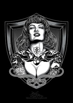 Black Sunday project by Deni Dessastra, via Behance