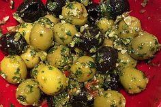 Eingelegte grüne Oliven (Rezept mit Bild) von healing21 | Chefkoch.de