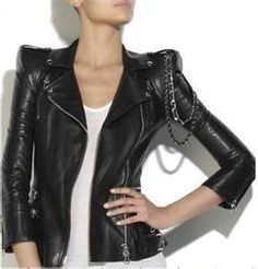 Women Leather Jacket ...