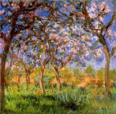 Giverny in Springtime - Claude Monet